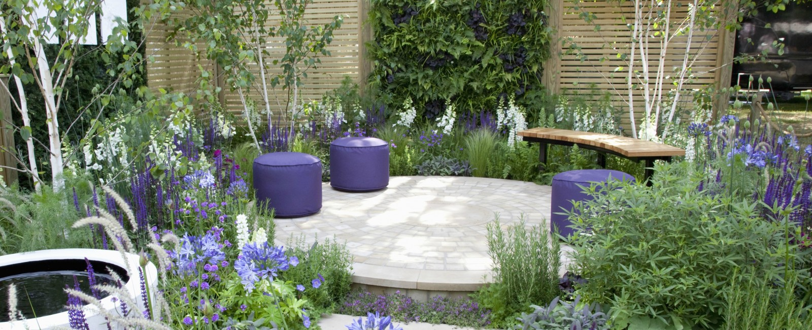 The Wellbeing of Women Garden - RHS Silver-Gilt Medal & RHS People's Choice Small Garden