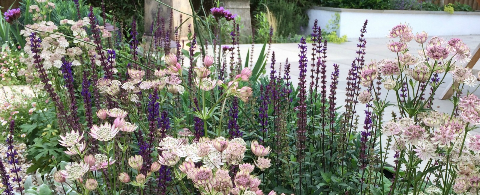 Cottage Garden Planting Scheme - late summer colour